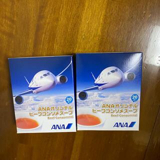 エーエヌエー(ゼンニッポンクウユ)(ANA(全日本空輸))のANAコンソメスープ(インスタント食品)
