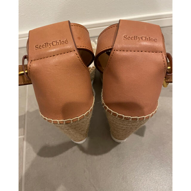 SEE BY CHLOE(シーバイクロエ)のSee by Chloe ウェッジソールサンダル レディースの靴/シューズ(サンダル)の商品写真