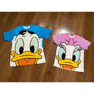 ディズニー(Disney)のTシャツ デイジー ドナルド(キャラクターグッズ)