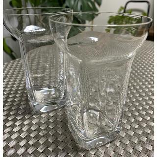 スガハラ(Sghr)のスガハラ ユニゾングラス (クリアー)2個セット(グラス/カップ)
