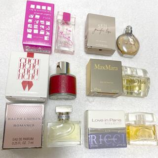 ラルフローレン(Ralph Lauren)の新品レディース香水ミニボトル6個セット(香水(女性用))