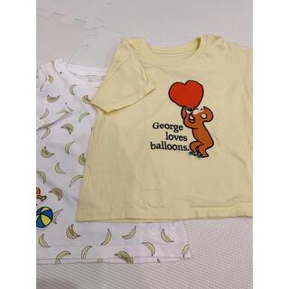 UNIQLO - 【2枚セット】UNIQLO 半袖 Tシャツ 90