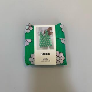エディットフォールル(EDIT.FOR LULU)のbaggu baby green daisy 残りわずか(エコバッグ)