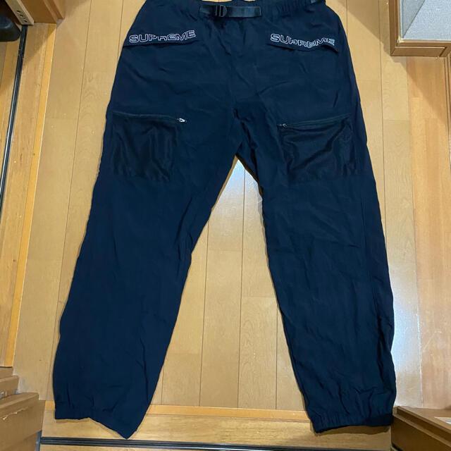 Supreme(シュプリーム)のSupreme Utility Belted Pant 20ss M ブラック メンズのパンツ(ワークパンツ/カーゴパンツ)の商品写真