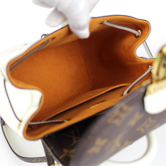LOUIS VUITTON(ルイヴィトン)のルイヴィトン リュック バックパック ホットスプリングス 白 ホワイト エナメル レディースのバッグ(リュック/バックパック)の商品写真