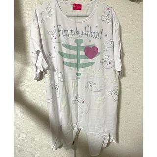 ディズニー(Disney)のディズニー ハロウィーン ゴーストTシャツ(Tシャツ(半袖/袖なし))