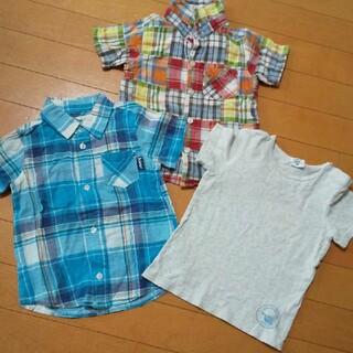 キムラタン(キムラタン)の3点セット シャツ 95 キムラタン シンプルフリー(Tシャツ/カットソー)