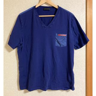 PRADA - PRADA プラダ ロゴ入りポケットTシャツ