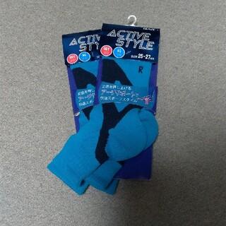 グンゼ(GUNZE)の【処分出品】GUNZE ACTIVE STYLE 靴下 ターコイズブルー(ソックス)
