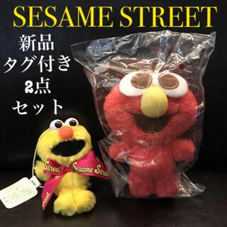 セサミストリート(SESAME STREET)のセサミストリート  ぬいぐるみセット 新品未使用(キャラクターグッズ)