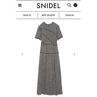 snidel - メローデザインワンピース snidel スナイデル