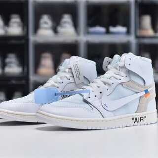 NIKE - OFF-WHITE x NIKE AIR JORDAN 1 RETRO HIGH