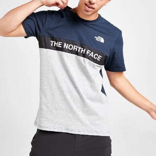 THE NORTH FACE - 【S】The North Face Woven Colour Block Tee
