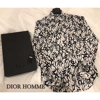 DIOR HOMME - DIOR HOMME 2018-19aw トライバルシャツ BTS テテ着用美品