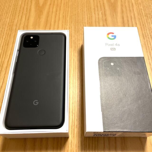 Google Pixel(グーグルピクセル)のGoogle Pixel 4a(5G) スマホ/家電/カメラのスマートフォン/携帯電話(スマートフォン本体)の商品写真