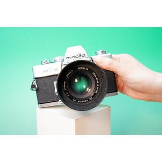 KONICA MINOLTA - 【美品】Minolta SRT101 標準レンズ付 ヴィンテージフィルムカメラ
