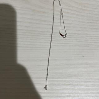 カナルヨンドシー(canal4℃)のダイヤのネックレス(美品)(ネックレス)