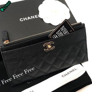 CHANEL - シャネル、スリムウォレット、CHANEL、財布、長財布、薄型財布、ココ金具