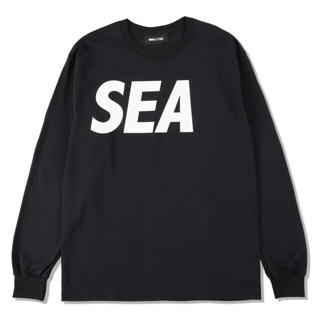 SEA(シー)のウィンダンシー SEA L/S T-SHIRT メンズのトップス(Tシャツ/カットソー(七分/長袖))の商品写真