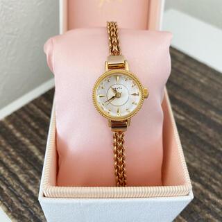 agete - 美品 agete FIRST 腕時計 ジュエリーウォッチ