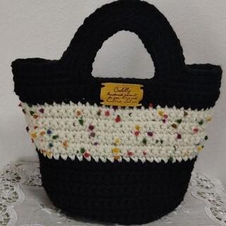 手編みシンプルバッグ♪(バッグ)