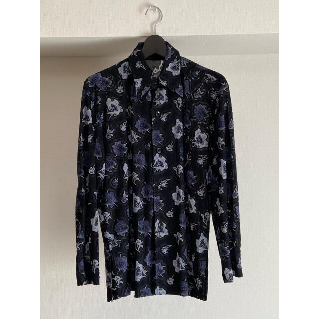 【再値下げ】バラ柄シャツ【日本製】 メンズのトップス(シャツ)の商品写真