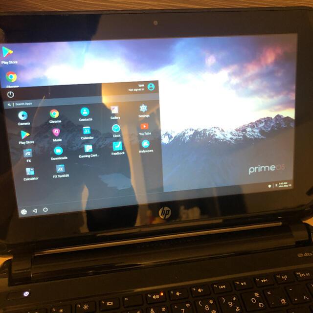 HP(ヒューレットパッカード)のHP TouchSmart 10-e003AU Prime OS スマホ/家電/カメラのPC/タブレット(ノートPC)の商品写真