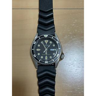 セイコー(SEIKO)のSEIKO セイコー 7S26-0030 ブラックボーイ自動巻ダイバー ボーイズ(腕時計(アナログ))