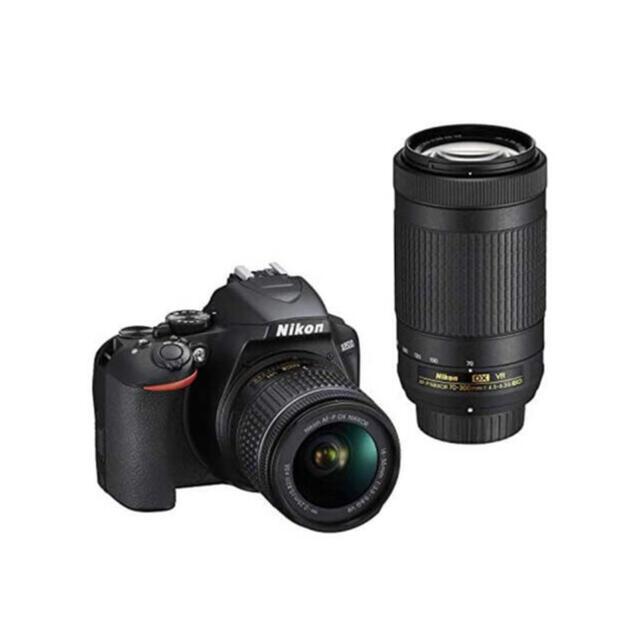 Nikon(ニコン)のNikon ニコン D3500 ダブルズームキット 新品未使用 スマホ/家電/カメラのカメラ(デジタル一眼)の商品写真
