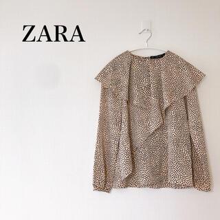 ZARA - ZARA  ドット ブラウス