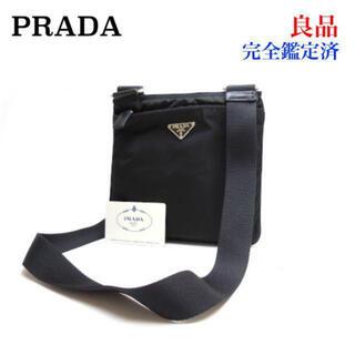 PRADA - PRADA プラダ ナイロン ショルダーバッグ BT7372 サコッシュ 黒