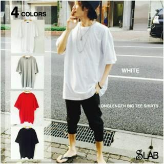 ストリートモードロング丈ビックTシャツ(Tシャツ/カットソー(半袖/袖なし))