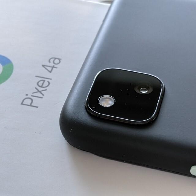 Google Pixel(グーグルピクセル)のGoogle Pixel4a Just Black スマホ/家電/カメラのスマートフォン/携帯電話(スマートフォン本体)の商品写真