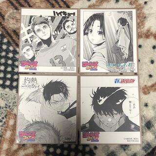集英社 - ジャンプフェア in アニメイト 色紙 4枚セット