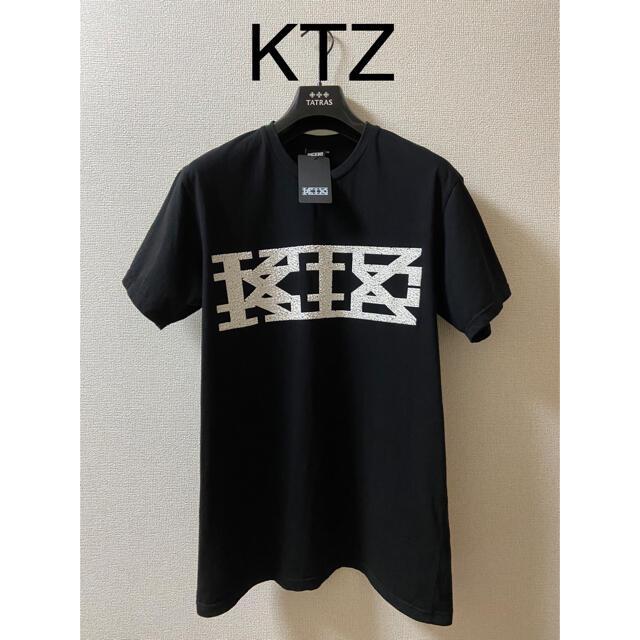 Kokon to zai (KTZ)(ココントーザイ)の【再値下げ】KTZ  立体ドリップラバービッグロゴTシャツ【タグ付き】 メンズのトップス(Tシャツ/カットソー(半袖/袖なし))の商品写真