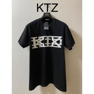Kokon to zai (KTZ) - 【再値下げ】KTZ  立体ドリップラバービッグロゴTシャツ【タグ付き】