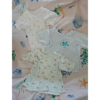 Disney - 新生児 短肌着 3着セット サイズ50 ミッキー ディズニー 出産準備