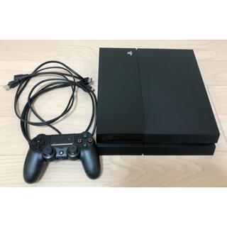 PlayStation4 - プレイステーション4本体 CUH-1100A ジェットブラック★ジャンクに近い