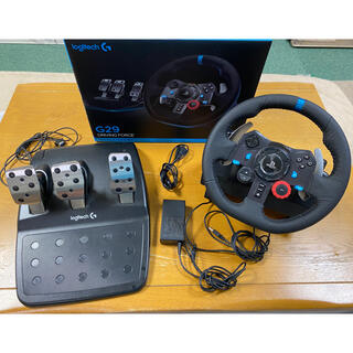 PlayStation4 - Logitech G29 Driving Force Feedback 輸入品