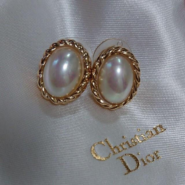Christian Dior(クリスチャンディオール)の未使用☆Diorのピアス レディースのアクセサリー(ピアス)の商品写真