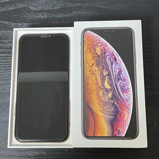 iPhone - iPhone XS 64GB ゴールド simフリー ジャンク品