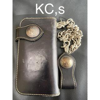 KC,s - 【再値下げ】KC,s  長財布【ウォレットチェーン付き】