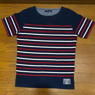 UNITED ARROWS - UNITED ARROWS ボーダー Tシャツ ボートネック M