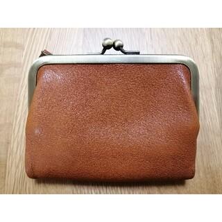土屋鞄製造所 - 土屋鞄製造所 トーンオイルヌメがま口ポケット財布 ブラウン