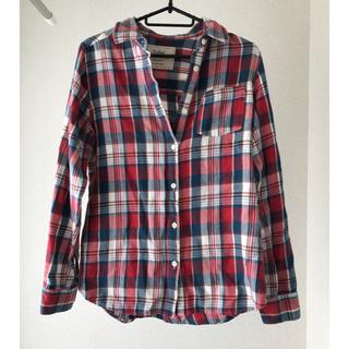 バビロン(BABYLONE)の美品 バビロン サルーン ゆったりチェックシャツ ネルシャツ(シャツ/ブラウス(長袖/七分))