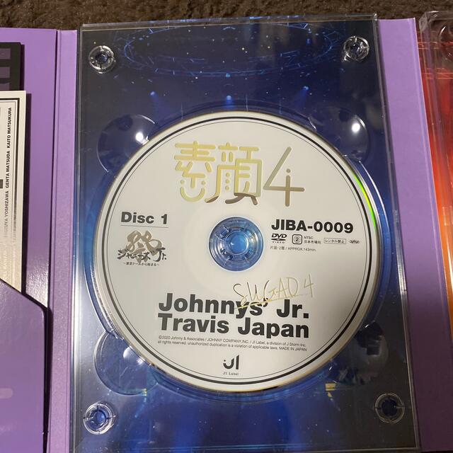 ジャニーズJr.(ジャニーズジュニア)の素顔4 TravisJapan エンタメ/ホビーのDVD/ブルーレイ(アイドル)の商品写真