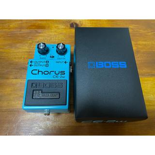 2021年5月購入 boss CE-2W 技 waza chorus 日本製(エフェクター)