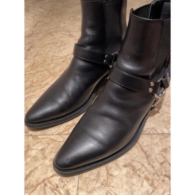 celine(セリーヌ)のCELINE カマルグ バイカー チェルシーブーツ サイドゴア ジャクノ 40 メンズの靴/シューズ(ブーツ)の商品写真