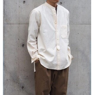 nest Robe - confect バンドカラー シャツ  コンフェクト