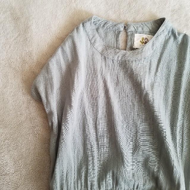 [―] mint-green one-piece レディースのワンピース(ロングワンピース/マキシワンピース)の商品写真
